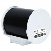 K-Sun 48002 PEARLabel Printer 400iXL 4 inch Black Polyethylene Olefin Adhesive Tape