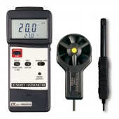 Lutron AM-4205A Vane Style Thermo-Anemometer Air Velocity Meter with Hygrometer