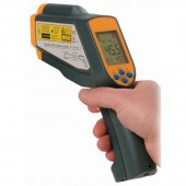 Lutron TM-969 Handheld Infrared Thermometer with dual laser targeting system