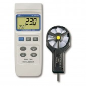 Lutron YK-2005AM Metal Vane Anemometer CFM Air Flow Meter
