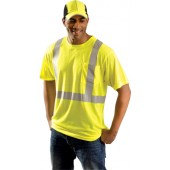 Occunomix Economy, Solid, Silver Reflective Tape, Pocket T-Shirt (Class 2)