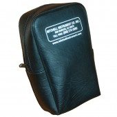 Vinyl Instrument Carrying Pouch - zippered with belt loop