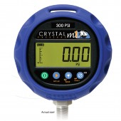 Crystal M1-1KPSI Digital Pressure Gauge 0-1,000 PSI Range 0.2% accuracy