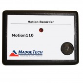 Madgetech Motion110 Motion Datalogger senses motion and records time intervals during which motion occurs.