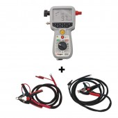 Megger BD-59092-US 200 Amp Microhmmeter MOM2 + Clamps DLRO  -  (10 foot black probe lead)