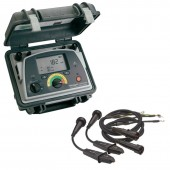 Megger DLRO10HD + DH4-C Digital Low Resistance Ohmmeter with Duplex Handspike probes