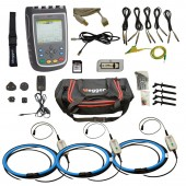 Megger MPQ1000 Gold Kit 3 Phase Power Quality Analyzer Indoor or Outdoor with 6000 Amp 10 Inch Dia. Flex Probes