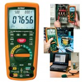 Extech MG300 Cat IV Insulation Tester and Multimeter with wireless