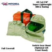 Mitchell Light Weight 40 Cal Arc Flash Coverall Kit