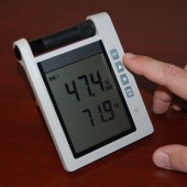 Mitchell MITCT621 Precision Wall or Desk Thermo-Hygrometer with Alarm