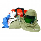 40 Cal/cm2 Premium Light Weight Arc Flash Suit with Class 00 Gloves
