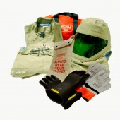40 Cal/cm2 Premium Light Weight Arc Flash Suit With Class 2 Gloves
