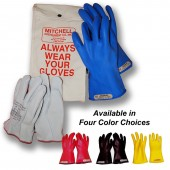 salisbury Class 00 Insulated Low Voltage Glove Kit - 11 inch 500V Gloves