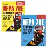 NFPA 70E Standard for Electrical Safety in the Workplace® and Handbook Set, 2015 Edition