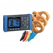 Hioki PW3360-21/500 Three Phase Power & Harmonics Datalogger - 500 Amp Kit