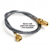 Quick-Test Hose with Brass Ends