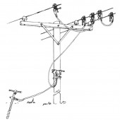 Salisbury 2684 - Special Applications Grounding Set - Complete 3 Phase Delta
