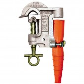 "Salisbury 9993 - 1.12"" Aluminum Smooth Jaw ""T""/Eye Bolt Clamp - ACME Thread w/ Strain Relief Sleeve."
