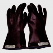 Salisbury by Honeywell E0011B/9H Insulated High Voltage Electrician's Gloves Class 00 (500V) - Size 9.5