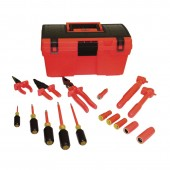 Salisbury by Honeywell S101 - 16 Piece Insulated Tool Kit - Telecommunication Tool Box