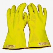 Salisbury E014Y Yellow Insulated Electrical Gloves Class 0 1000V Rated