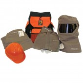 Salisbury SK100 SPL BP 100 Cal Arc Flash Protection Kit With Jacket & Pants and Back Pack