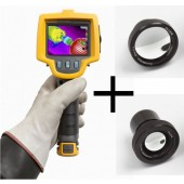 Fluke Ti32 High Resolution Thermal Imager Value Kit with Free Wide and Telephoto Lens