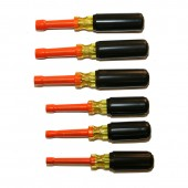 Cementex TR6ND Insulated Nut Driver Set 6 Pieces