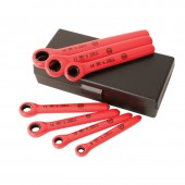 Insulated Metric Ratchet Wrench 7 Pc Set